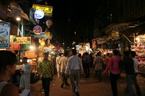 Paharganj Area (Delhi) à noite