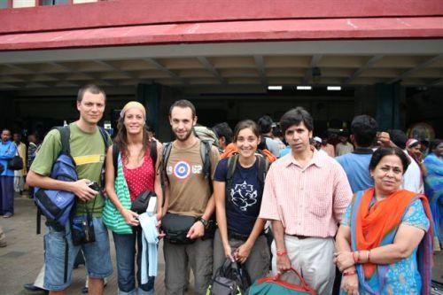 Os nossos companheiros de viagem