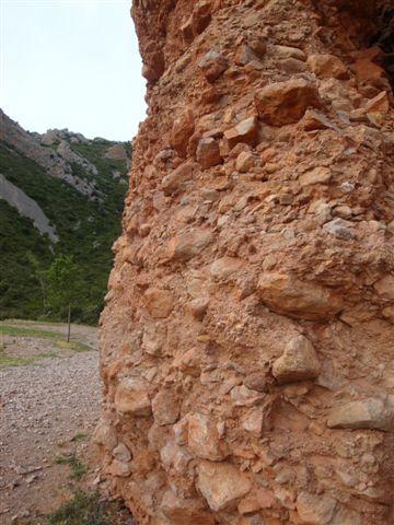 O aspecto da rocha