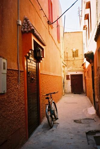 (129) Porta da Riad - Marrakech