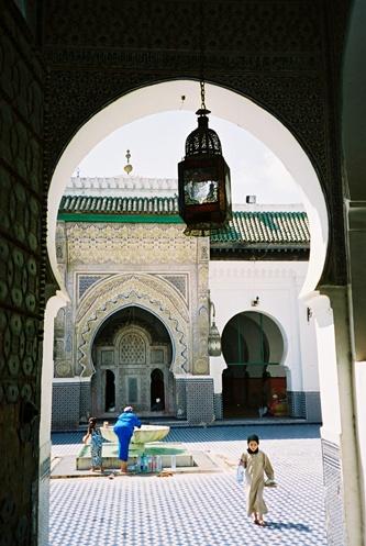 (34) Medina - Mesquita Karaouiyine - Fès