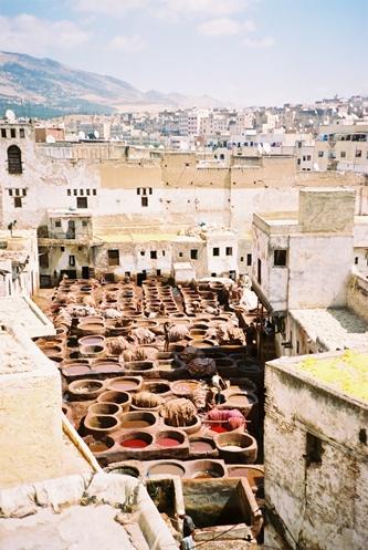 (36) Medina - Zona dos Curtumes - Fès