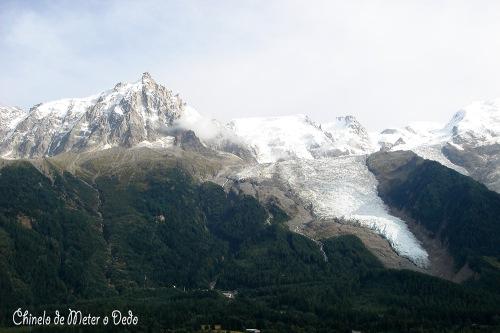 Vistas de Chamonix e os inconfundíveis glaciares do Monte Branco (2005)