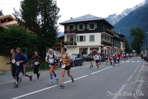 Ultra Trail do Monte Branco: prova rainha da trail de montanha, 2005 (166 km +9,400m de desnível; vencedor JAQUEROD Christophe com 21h 11min e 7 seg)